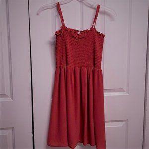 Bebop Sun Dress Size Jr XL Dark Pink